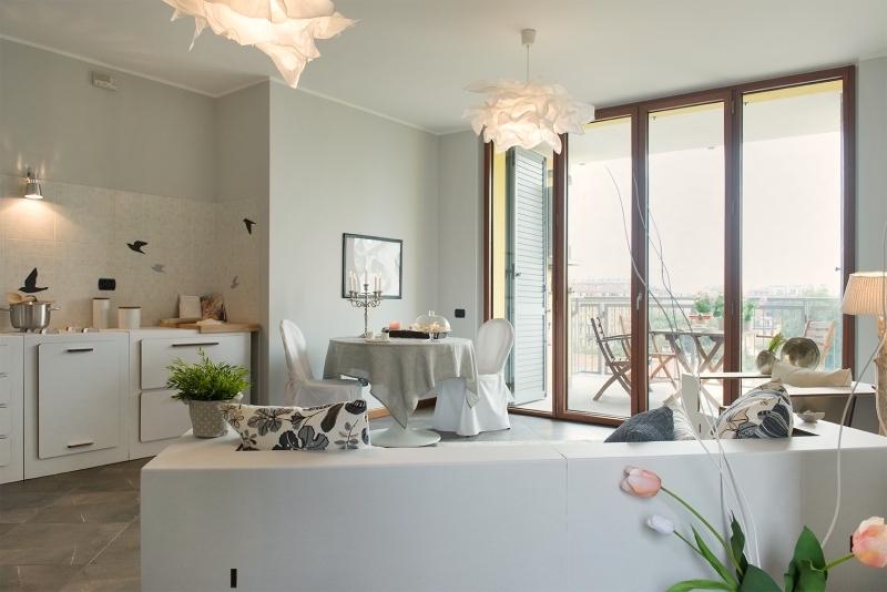 Bilocale con terrazzo, nuova costruzione,Milano,zona Precotto