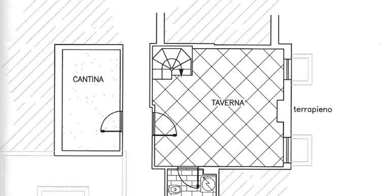 2.planimetria taverna-cantina vaprio d adda